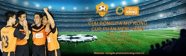 Banner giải bóng đá ngành kim hoàn